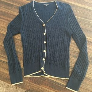 Brooks Brothers cable knit sweater sz m
